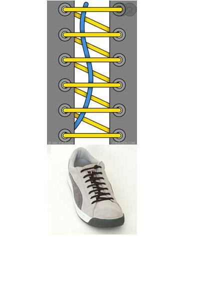 Шнурки в ботинки своими руками