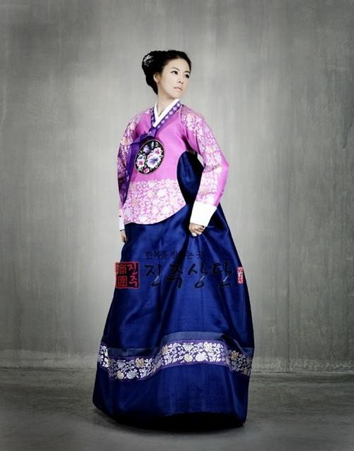 Корейского платья современные