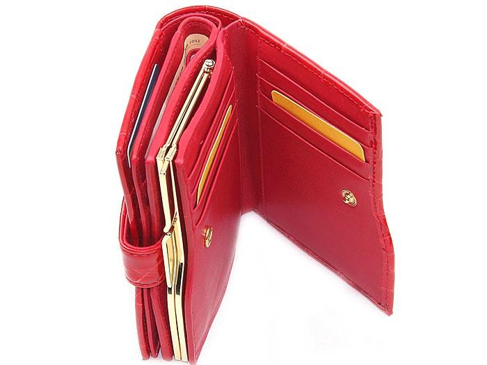 527436c14145 Красные кошельки (30 фото): женские кожаные портмоне, цвета, красно ...