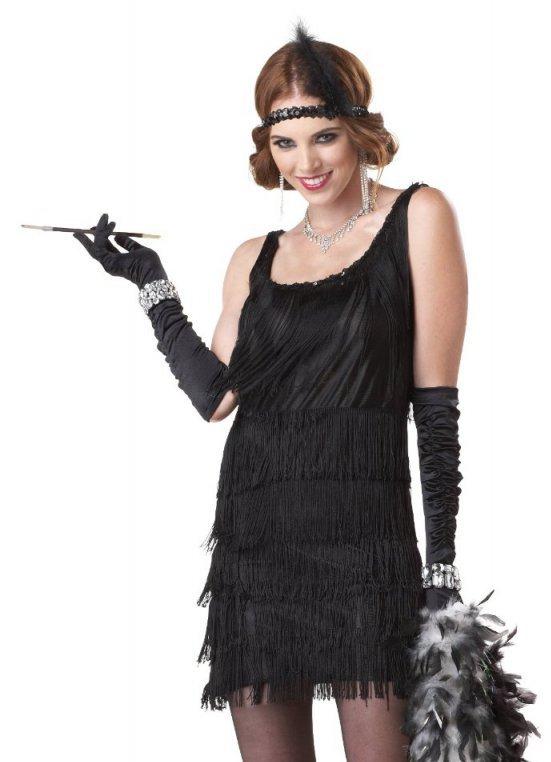 Вечеринка в гангстерском стиле платья