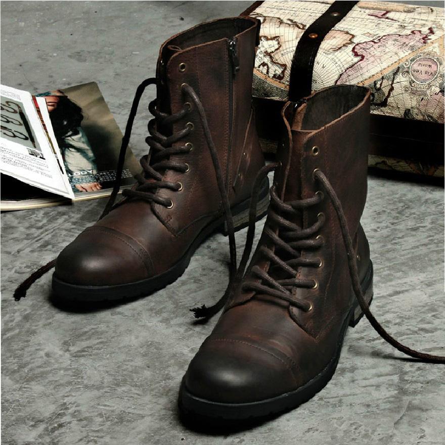 27d1d9ebe Мужские ботинки на шнуровке: зимние модели, классические и угги ...