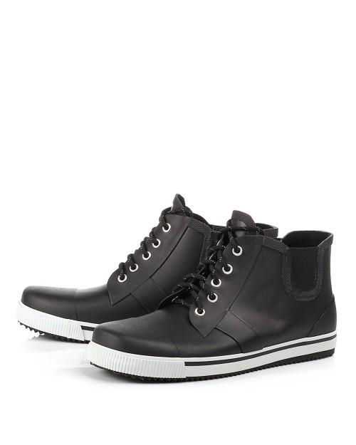 c76507e5f Мужские резиновые ботинки: для города, прорезиненные зимние модели ...