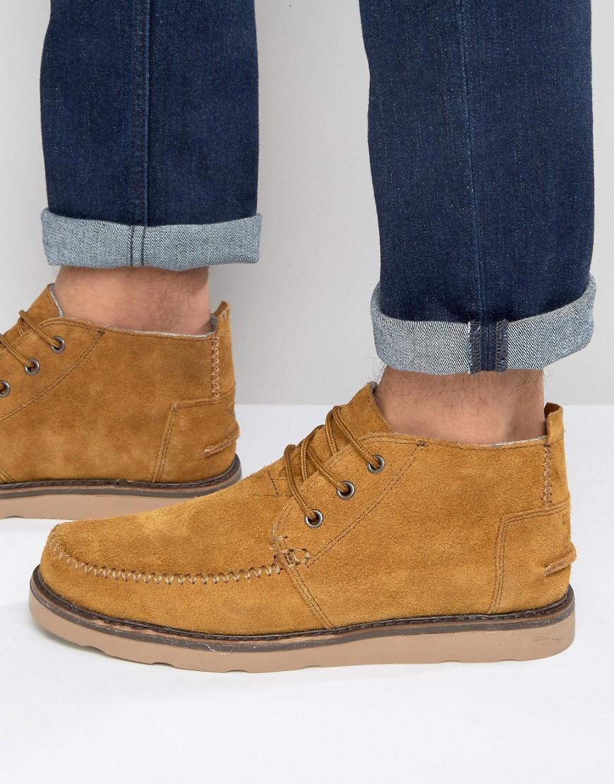 7f8f311d6 Высокие кожаные ботинки Дерби в желто-рыжих оттенках с длинной шнуровкой на  толстой подошве и с закругленным носом могут себе позволить мужчины, ...