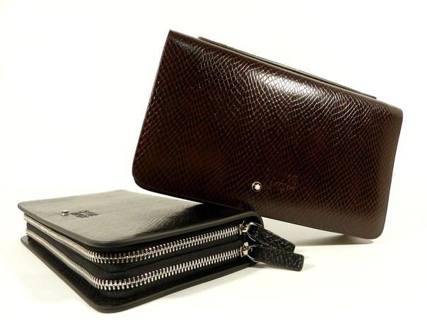 853b31aa80bf Мужской клатч Мontblanc: кожаные портмоне и клатчи из натуральной кожи