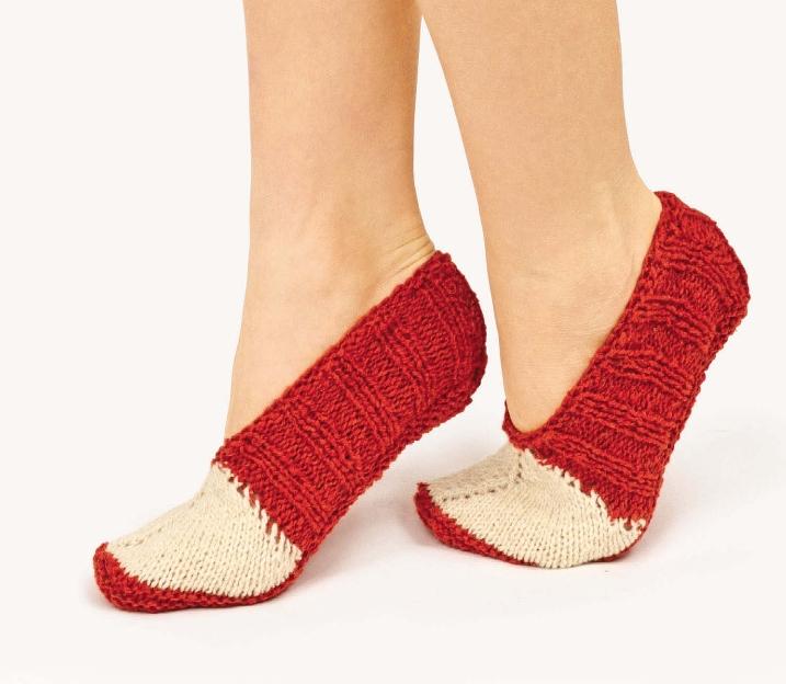 Вязание следков с носка спицами 72