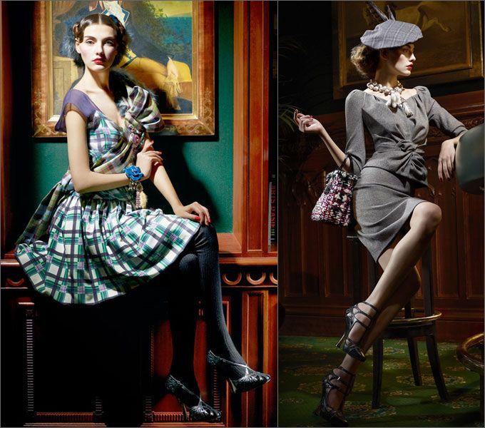 Винтажная Женская Одежда