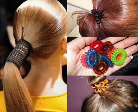 Фото красивые резинки для волос