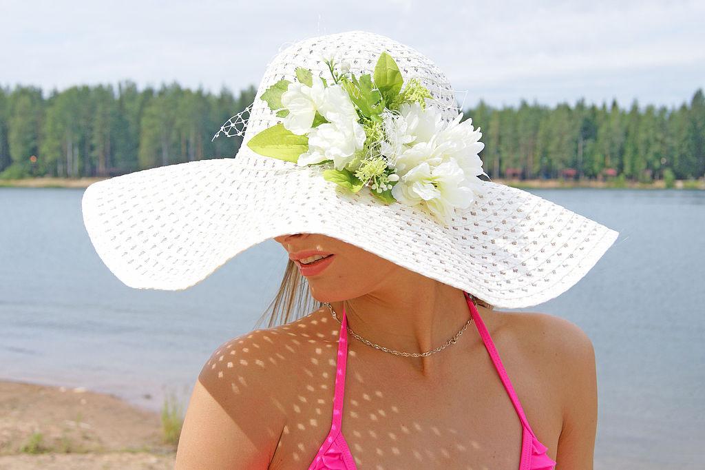 Пляжная шляпка своими руками мастер класс 17