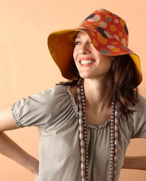 Сшить летнюю шляпу с широкими полями