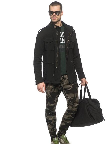 мужские военные зауженные фото штаны