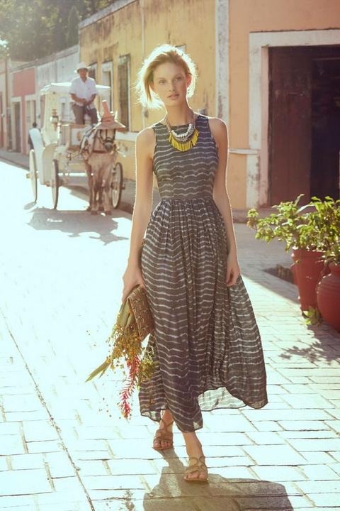 Французская романтика: как выбрать повседневное и вечернее платье в стиле прованс 90