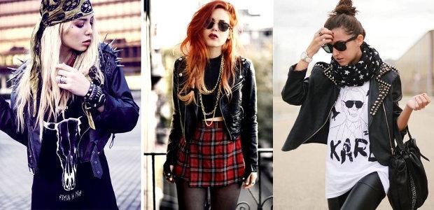 Девушка в стиле рок: фото, советы, макияж - 101 облик