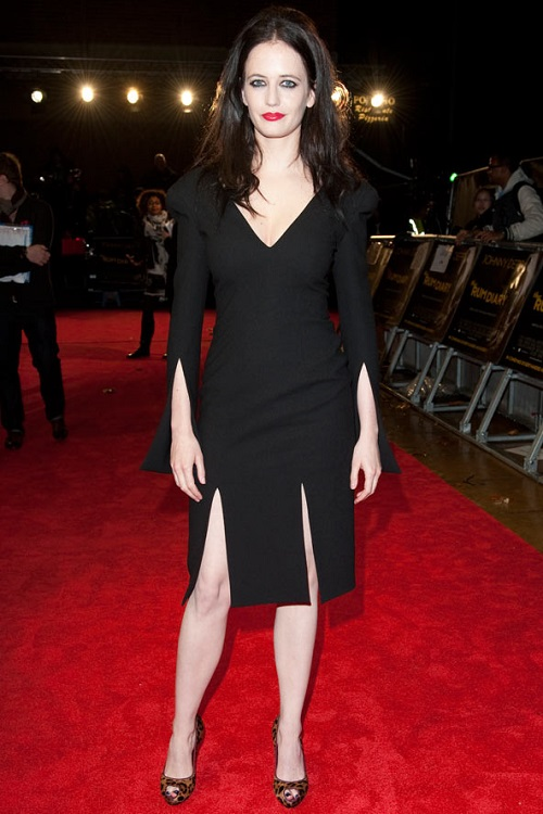 Черные платья в стиле вамп