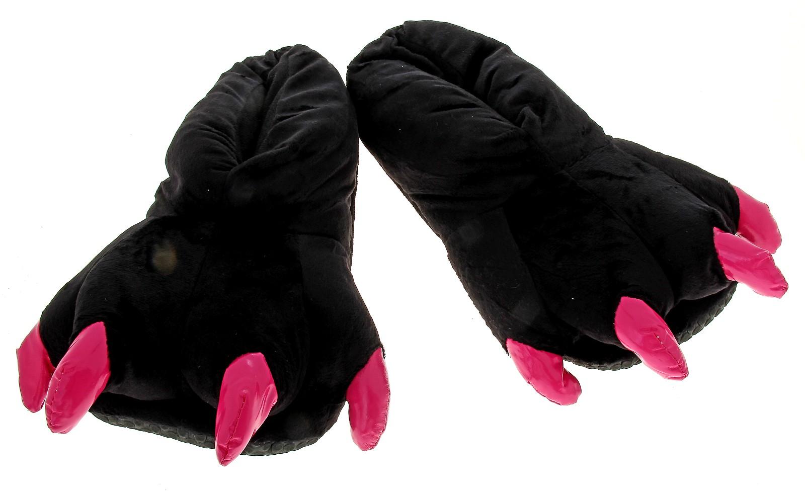 Тапочки-лапы  модели с лапами медведя, лапки волка f1b682edb4f