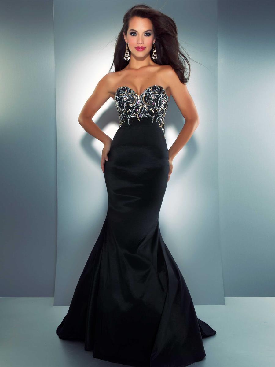 Прическа под черное вечернее платье фото