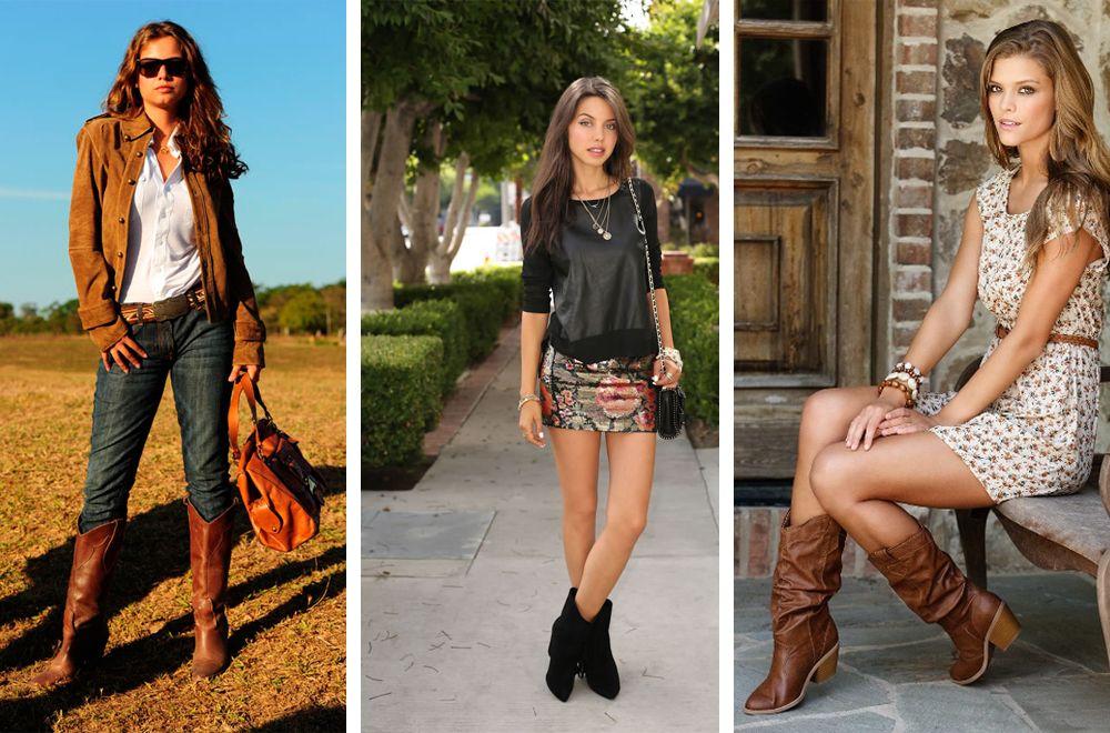 ковбойские сапоги женские фото