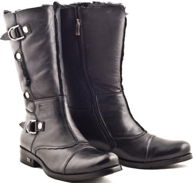 549d6e86375 Зимние высокие мужские сапоги  модели с высоким голенищем