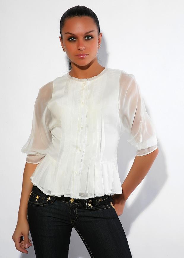 Красивые Необычные Блузки Купить
