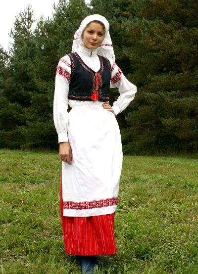 национальный белорусский костюм фото что