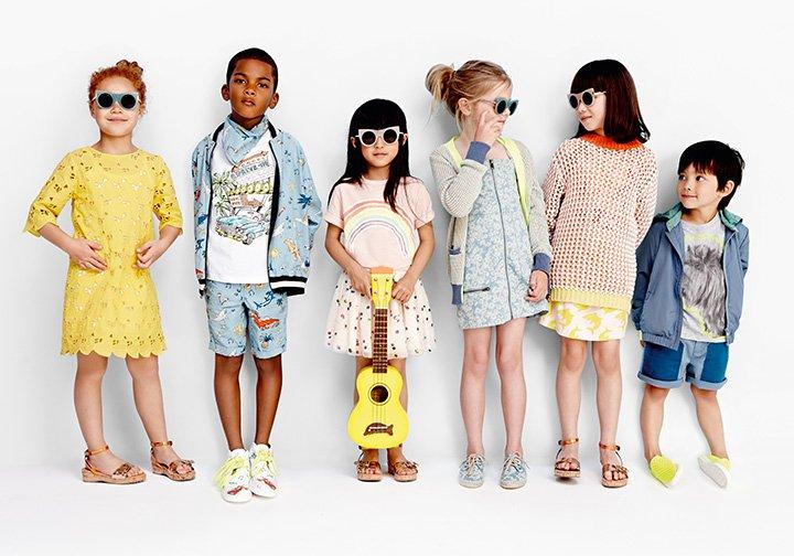 Одежда для детей разных возрастов