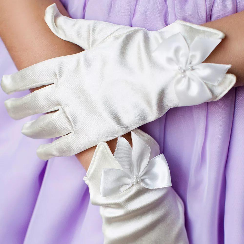 Детские перчатки к платью своими руками 61