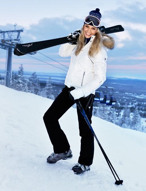 d87ccde315a4 Горнолыжная одежда Descente  женские брюки с курткой для спорта