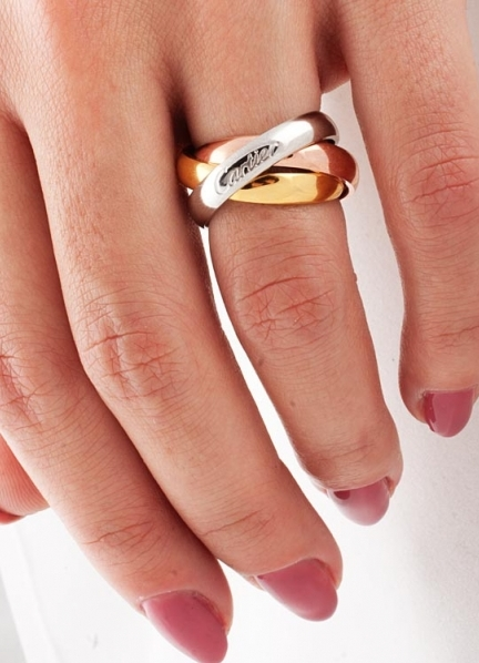 фото шеллака на ногтях с дизайном синий