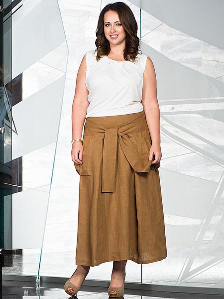 7725241f2e9 Летняя одежда для полных женщин (41 фото)  модели больших размеров ...
