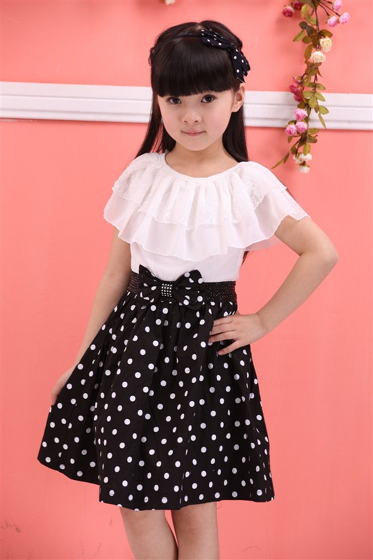 Картинки платьев чёрно белые для девочек