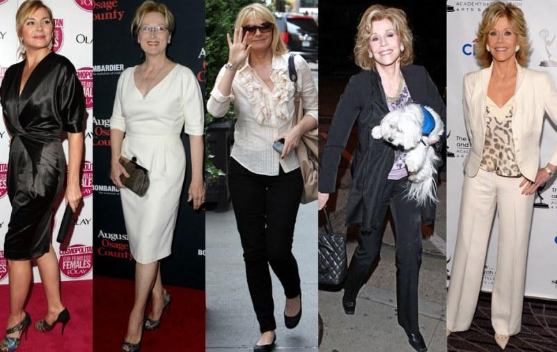 Модные женщины в 50 лет