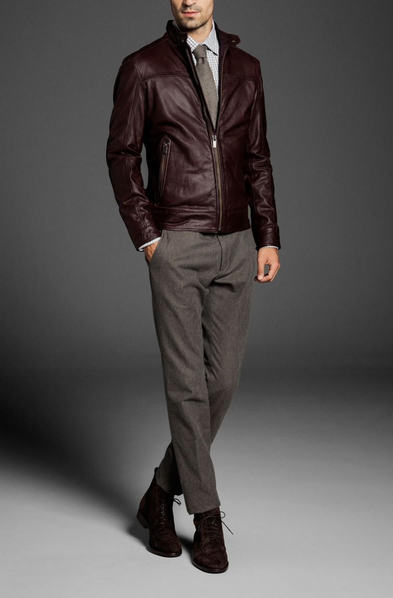 a884a09d58e Мужская одежда Zara отличается классическими формами и моделями