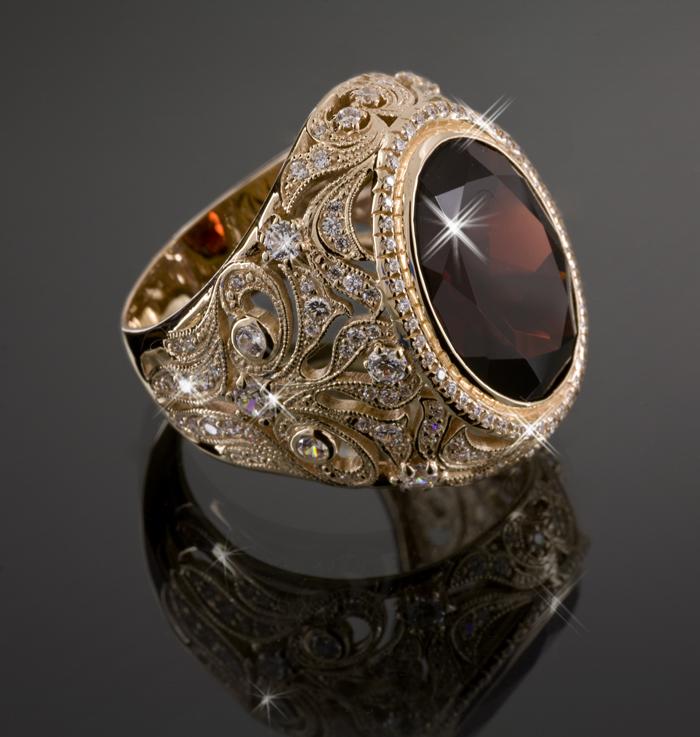 Мужские кольца с камнями (39 фото)  обручальные кольца с крупными ... 1ea2fab4a16b9
