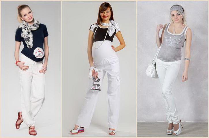 Брюки для беременных с чем носить 276