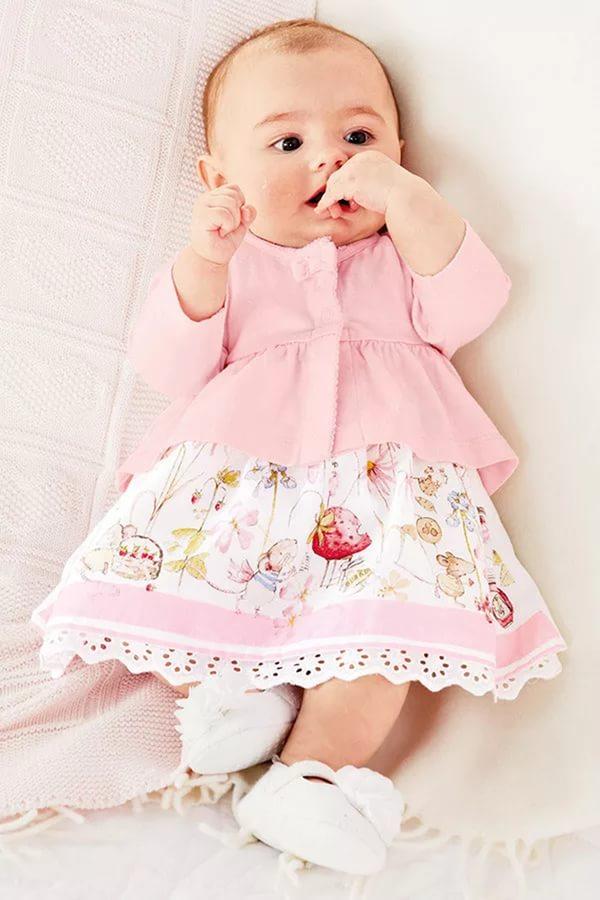 Платье для новорожденных