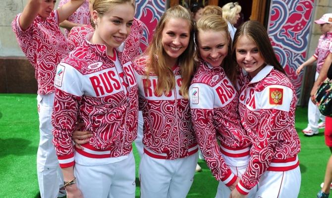 новая форма одежды олимпийской сборной России  YouTube