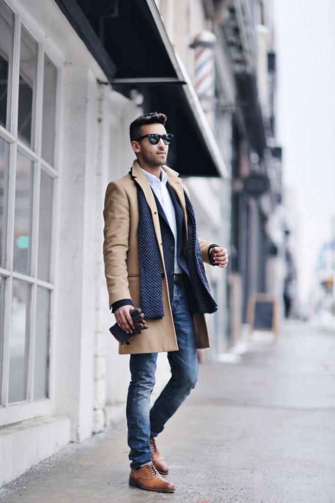 75b89a6a2dc Осенняя одежда для мужчин  мужская мода для осени - луки 2019