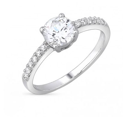 1785e9ea3510 Что же касается сочетания камня с металлами, то лучшим «напарником» для  этого вида является серебро. Блестящий и яркий фианит гармонично и выражено  выглядит ...