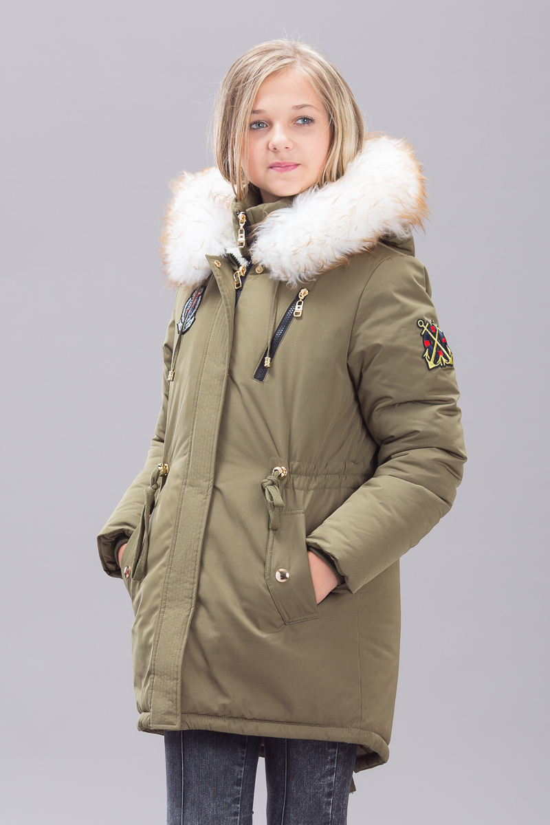 верхняя одежда для девочек подростков модные модели производства россия