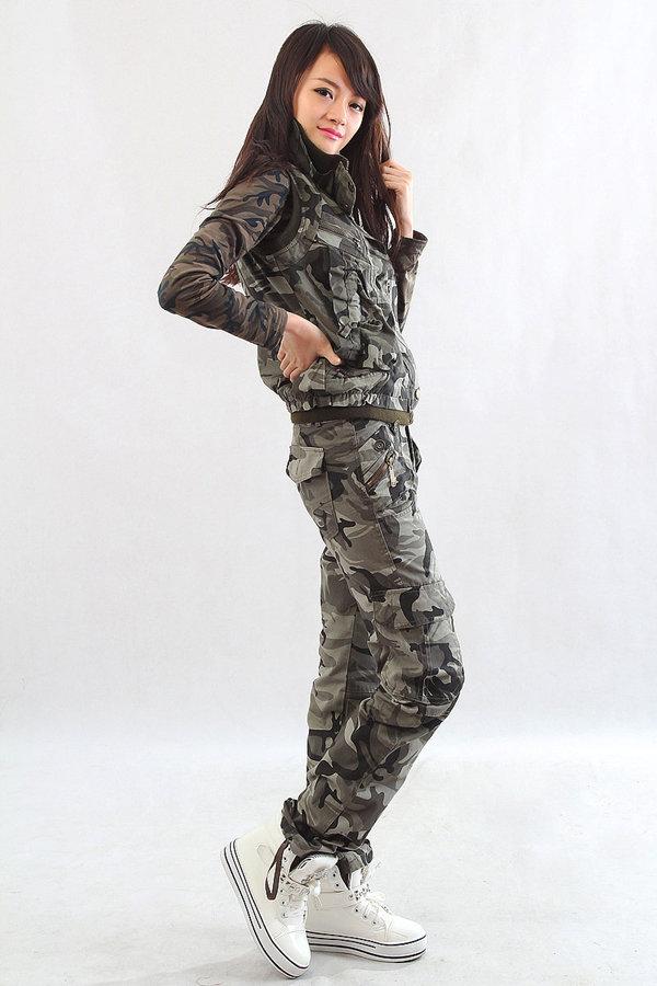 Женская Камуфляжная Одежда Купить