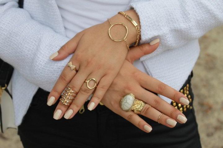 Стильные женские кольца фото