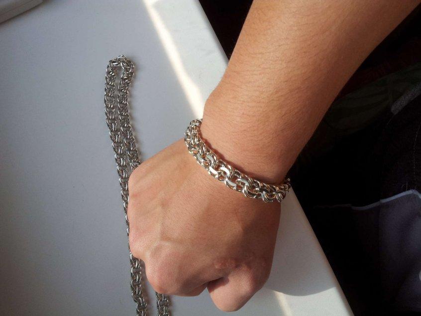 золотые браслеты плетение бисмарк