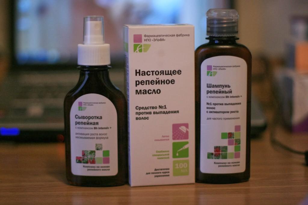 Репейное масло от выпадения волос: правильное применение