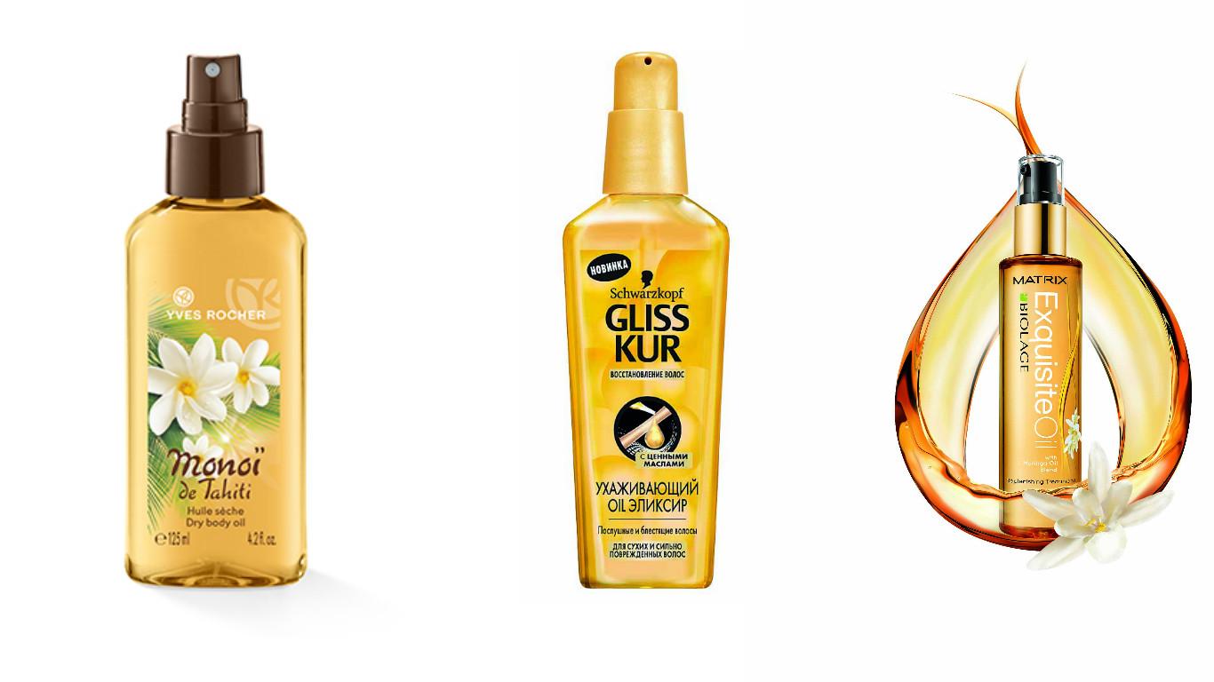 Как сделать сухое масло для волос