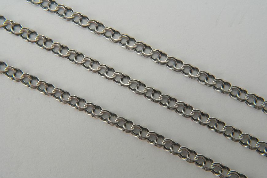виды плетения цепочек серебряных
