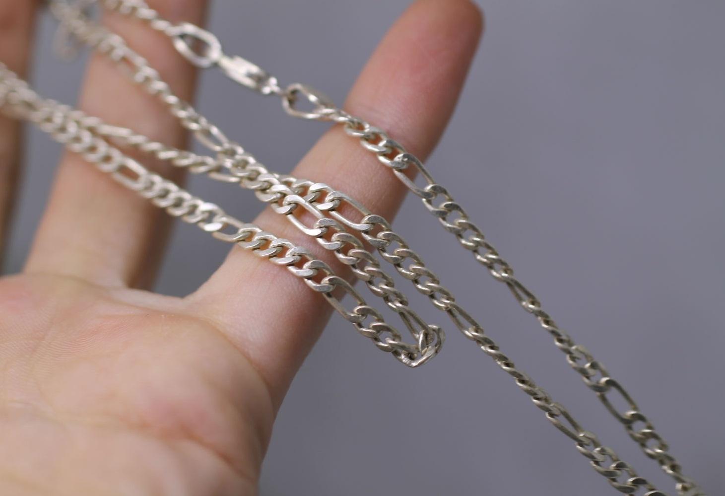 Серебряные цепочки для детей фото