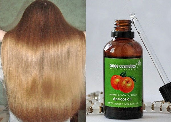 абрикосовое масло маски для волос