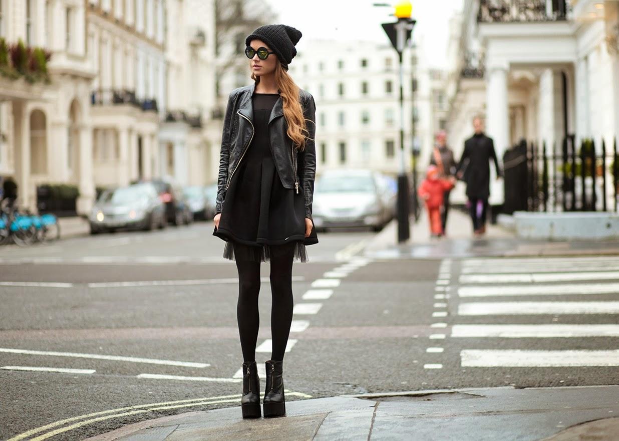 Модные девушки с улиц фото