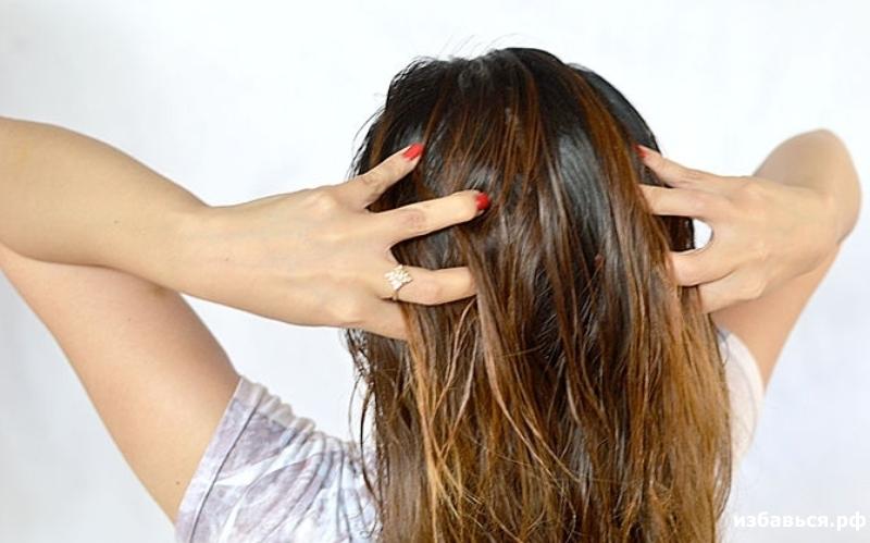Как с помощью масел восстановить сухие волосы