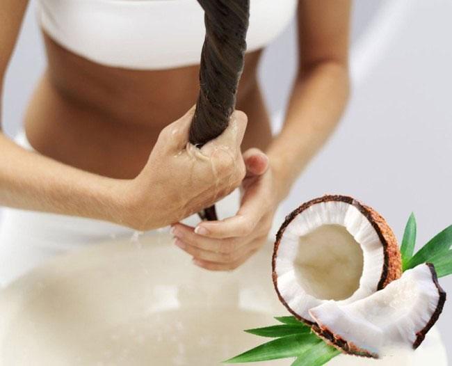 как часто надо делать маску из кокосового масла для кудрявых волос