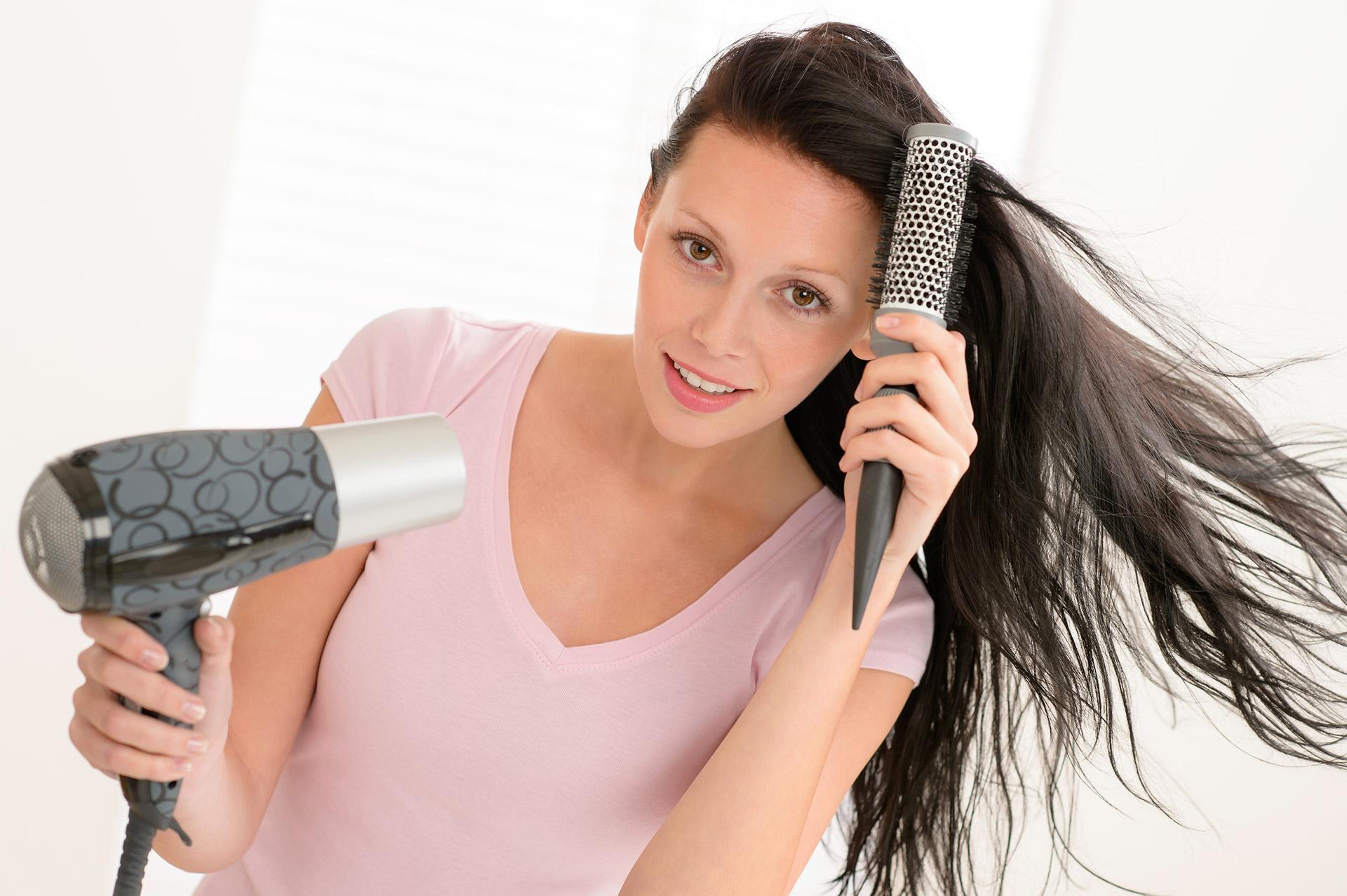 Как уложить волосы феном как правильно научиться самой 26